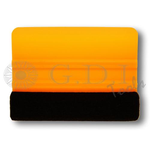 Mango Bump Card with Felt Edge