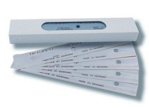 "Stainless Steel Triumph Blades, 6"" (25pk)"