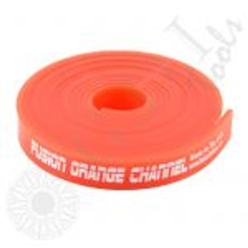 GT2107 – 120″ Fusion Orange Channel Refill Fusion Orange Channel squeegee is 85 durometer.  Easily cut the roll to the channel.