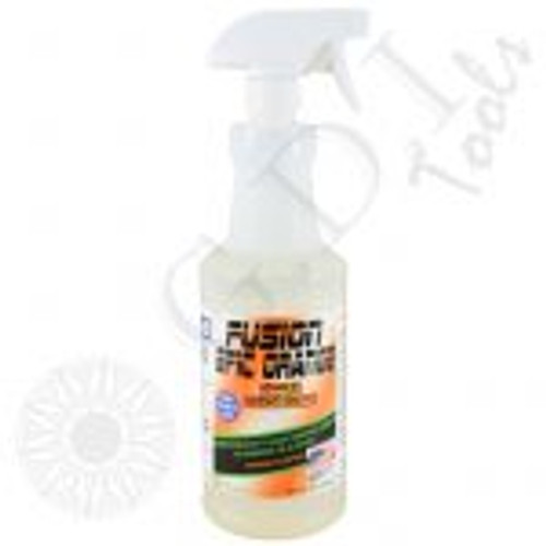 GT2111-Fusion Epic Orange Adhesive Remover (Quart) Epic Orange Adhesive Remover is specifically formulated to break down adhesive used in window films, paint protection films and vinyl. Simply spray the desired area and watch the adhesive breakdown. No alcohol and no ammonia! QUART