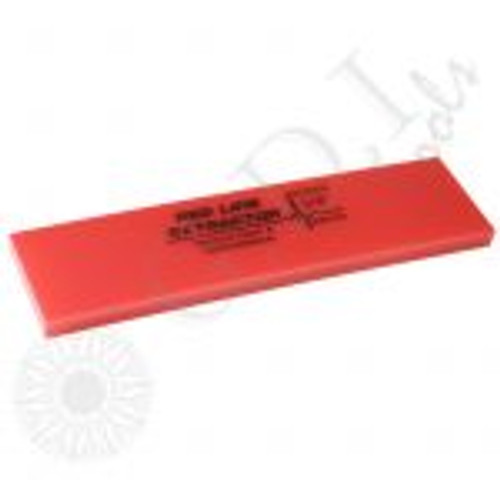"""GT2118 – 8"""" Big Mouth 3/8"""" Thick No Bevel Squeegee Blade The 3/8″ thick blades are ideal for thick security films, graffiti films, hurricane/ bomb blast films, and windshield protection films. It is a much stiffer option designed to optimize solution extraction while not putting more pressure on the back and arms of the installer. Use with a Big Mouth Handle."""