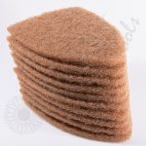 GT2121T – SCRUB-IT Pads- Tan (10 pack) The Tan SCRUB-IT replacement pads come in a 10 pack. The Tan color scrub pads are great for every day cleaning and prep work. The pads are made of scratch resistant material but use with caution. Test on a small part of glass before use as not all glass is made the same! Please make sure to check newer vehicles for factory coatings that are applied to the inside of the glass that might be damaged by the SCRUB-IT.