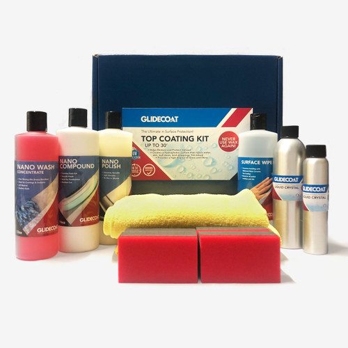 Glidecoat Marine  Ceramic Top Coating Kit is a Do-It-Yourself Nano Coating kit.
