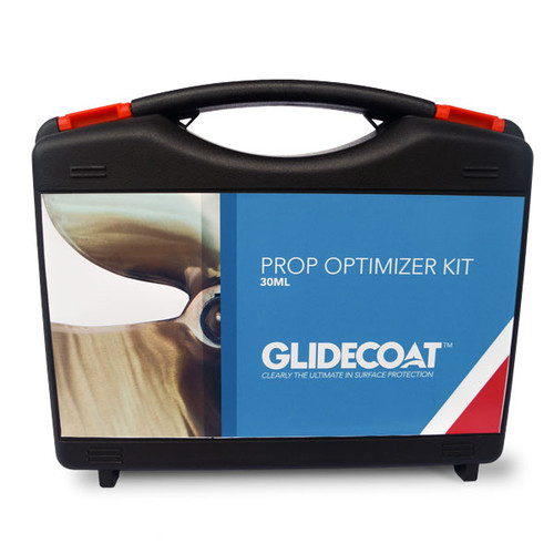 Glidecoat Prop Optimizer does not use any silicon or wax based products. What it does use is Smart Surface Technology (SST) leveraging a Nano Crystal coating, which at the molecular level, has the ability to fill all the microscopic nicks, scratches, and grooves in your propeller.