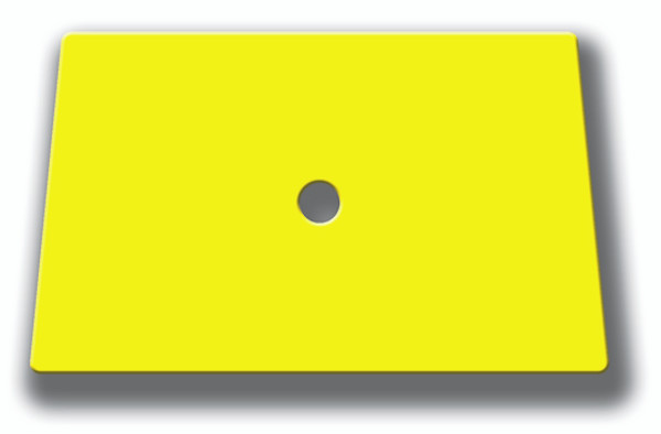 """GT086-6Y – 6″ Yellow Hard Card Squeegee  The most popular window film installation tool: A basic 6"""" Yellow Squeegee Hard Card. As simple as it seems this tool gets the job done and is perfect for automotive and decorative window film installation."""