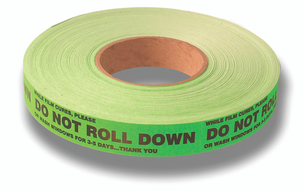 """Do Not Roll Down"" Stickers"
