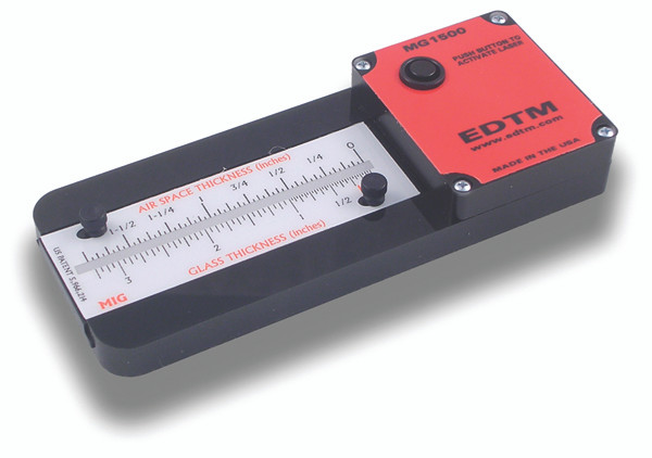 I.G. THICKNESS and GAP GAUGE meter