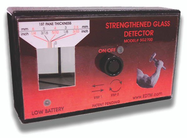 TEMPERED GLASS DETECTOR