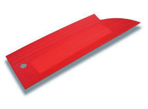 GT033 – Red Devil Squeegee  Flexible squeegee that is great for tight corners and maneuvering around gaskets.