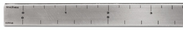 """GT1002 – Clean Cut Box Slitter - 48""""  Clean cut is back and better than ever!  Available in 36″, 48″, 60″ and 72″ sizes.  The new and improved bars are an alloy U-channel in a brushed polished finish.  Each bar has a ruler across the top edge for precise measuring and placement of the Cutter Head.  These bars fit securely on the edge of the inner product box to keep everything from moving while making your cut.  Simply line the edge of the film up with the zero mark on the ruler and press the bar down on the box.  The U-channel can also be used as a straight cutting edge when you are ready to cut the film out of the box."""