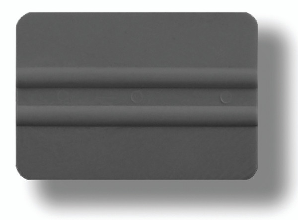 GT087Gray – Gray Lidco Squeegee  Use with automotive window film installations, this softer squeegee (compared to the hard cards) are less likely to scratch glass and film during installation. Used for side windows, this gray card is harder than the related orange one.
