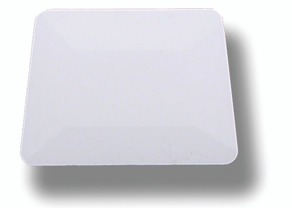 GT086 – White Hard Card Squeegee 4""