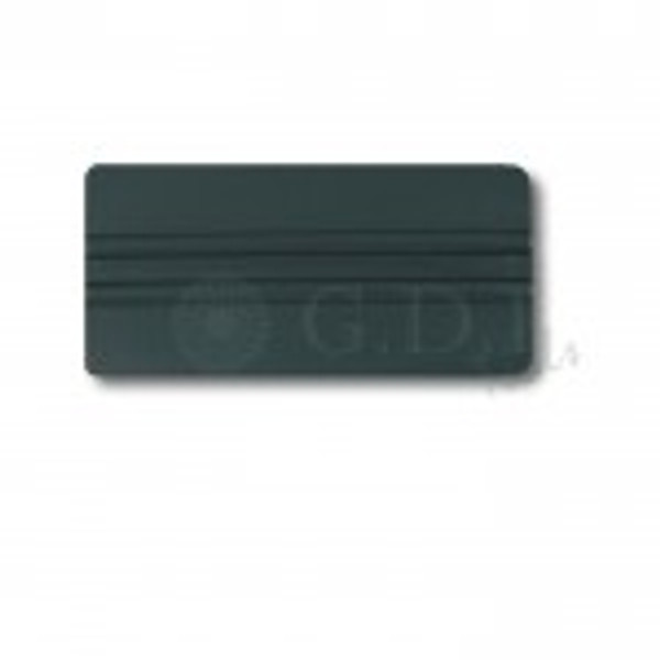 GT087-6 Gray – Gray Lidco Squeegee  Use with automotive window film installations, this softer squeegee (compared to the hard cards) are less likely to scratch glass and film during installation. Used for side windows, this gray card is harder than the related orange one.