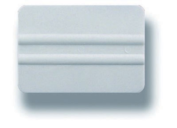 """Squeegee, Universal PVC 4"""" with Rounded Edges"""