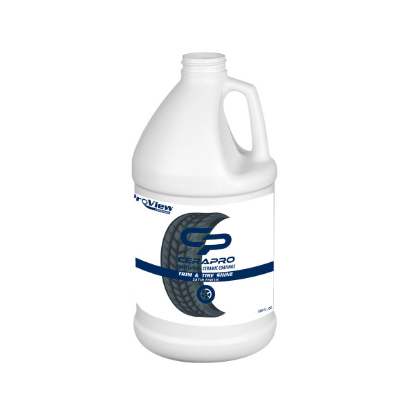 Cerapro Trim & Tire Shine - 1 gal