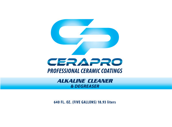 Cerapro Alkaline Cleaner & Degreaser - 5 gal