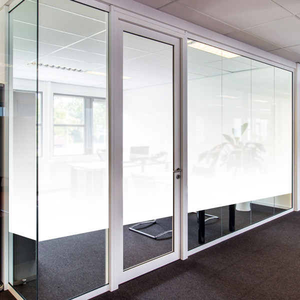 PVD7510-0003 Our Classic Gradient is available in both Etched Glass and White Frost. It also comes in both 60in and 30in widths, so you can get the right privacy for your space. The 60in wide design features a smooth gradation from either etched or frost to clear across the width of the film. The 30in wide is the same design at exactly half the size. Whether you choose etched or frost, it is a simple yet stylish way to add a little privacy to your home or office while still allowing lots of light. If you need a custom sized gradient, you can always contact us.