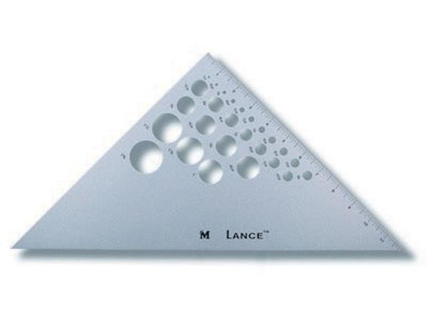 "12"" Triangle 45/90"