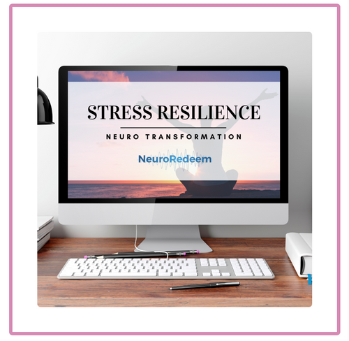 The NeuroRedeem Stress Resilience Neuro Transformation uses a patent pending methodology to retrain your neural pathways, and change your automatic and reflexive responses in times of stress and overwhelm.
