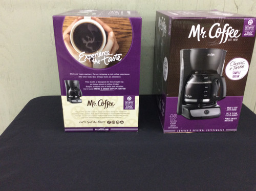 Mr. Coffee 12 Cup Switch Coffee Maker Black