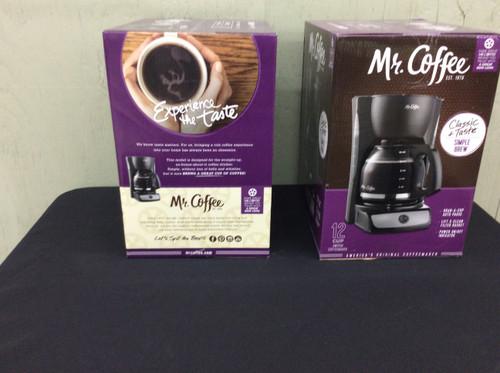 Mr. Coffee 12 Cup Switch Coffee Maker Black