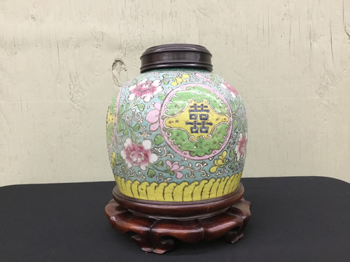 Chinese Jar &  Base
