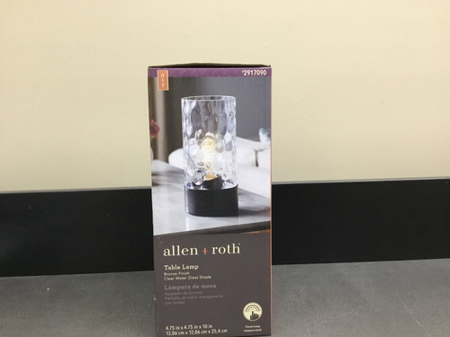Allen +Roth Table Lamp