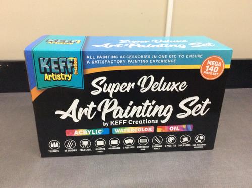 Super Deluxe Art Painting Set