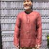 Lighweight cotton Ram Nam shown in Maroon
