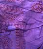 Raj Men's Cotton Om Print Short Sleeve Kurtha