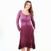 Viscose Ombre' Dye Knit Nicolette Dress