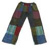 William Cotton Stonewash Patchwork Cargo Pants