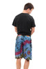Solar Rayon Tie Dye Shorts shown in Assorted Mudmee