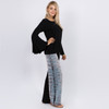ROBYN BELL TOP RayonSpandex Bell Sleeve Long Sleeve Top