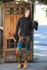 Halima Rayon\Spandex Tie dye Ruffle Capris