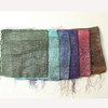Hippie Chic Accessory: Metallic Thread Scarf