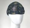 Cotton Tie Dye Headband With Bolt Print
