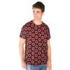 GORDON SHIRT-Cotton Phish Donut Print Men's T-Shirt