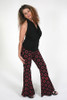 Back ON The Train Pants-Shown In Black/Red