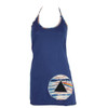 Cotton Lycra Halter Top with Dark Side of the Moon Logo
