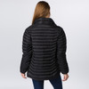 NATASHA JACKET - Puffy Down Zip Up Jacket with SYF Embroidery