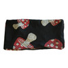Cotton Lycra Headband - Mushroom & Pot Leaf Print