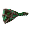 Cotton Lycra Headband with Elastic - Mushroom & Pot Leaf Print