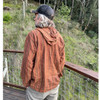 DUDE HOODY Cotton Stonewash Hooded Pullover With Pocket