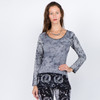 MG Top- Long Sleeve Long Batik Top with Bear or SYF