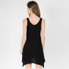 Beatrice Dress Shown In Black With Ganesh Head Print
