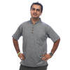 PARAM SHIRT - Cotton Khadar Men's No Collar Shirt