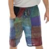 KELLY SHORTS - Ram Nam Overdye Men's Patchwork Shorts