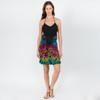 PIPPA SKIRT - Rayon Spandex Double Ruffle Mini Skirt-Mudmee