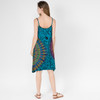 BLAIRE DRESS - Rayon Spandex Spaghetti Strap Short Slip Dress-Mudmee